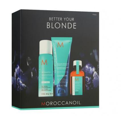 Набор для блондинок Moroccanoil
