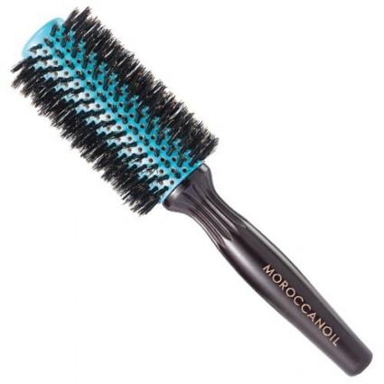 Деревянная щетка круглая Moroccanoil Boar Bristle Round Brush